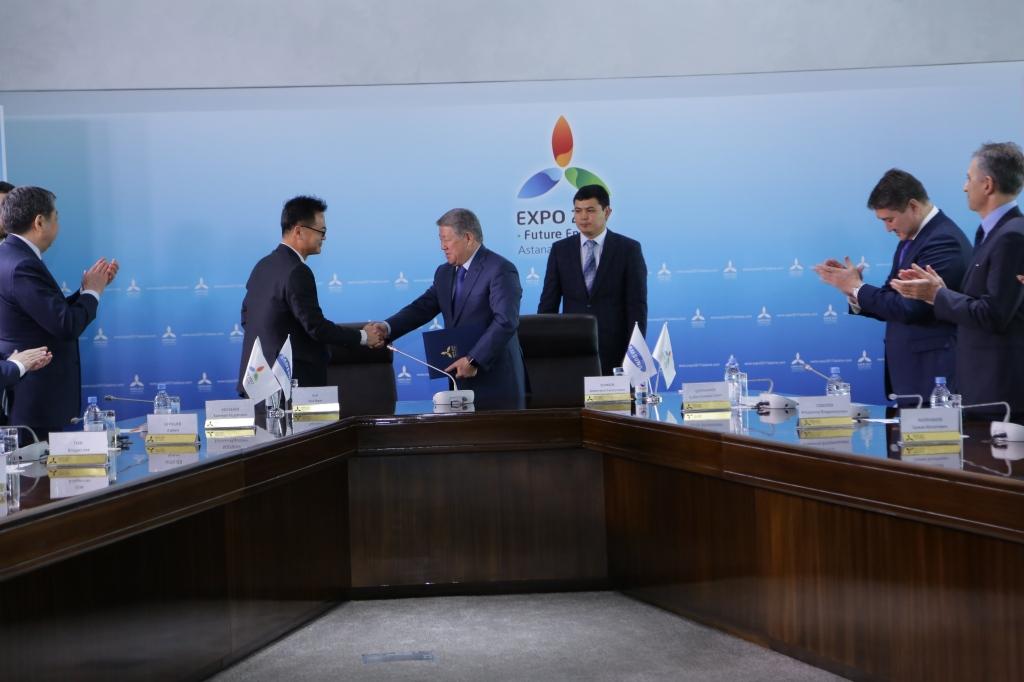 Астана ЭКСПО-2017: Samsung стал официальным партнером