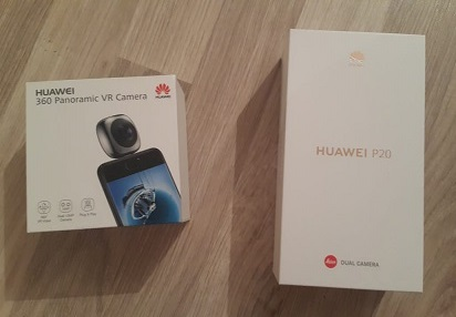 Huawei P20 Panoramic VR camera