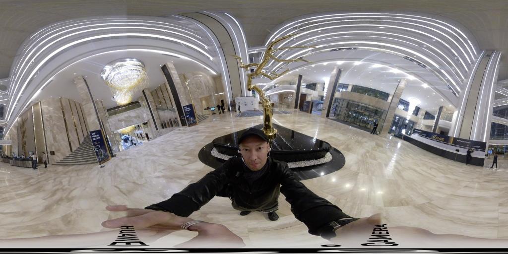 Huawei Panoramic VR camera fish eye