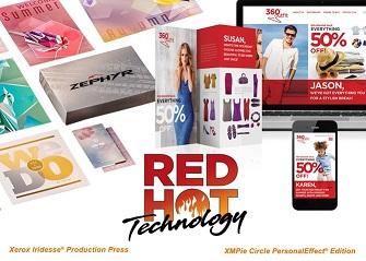 Компания Xerox получила семь наград RED HOT Technology за программные и аппаратные решения для полиграфии