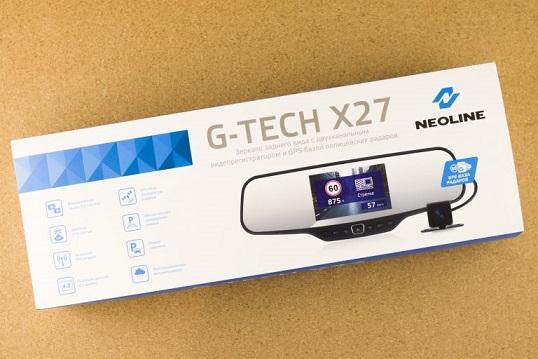 Смотри в оба: Обзор NEOLINE G-Tech X27