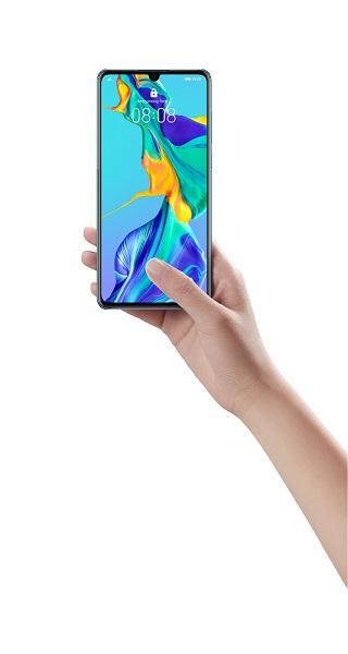 HUAWEI представил серию смартфонов HUAWEI P30