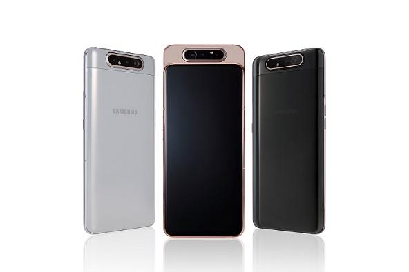 Samsung выводит на рынок РК новый инновационный смартфон Galaxy A80