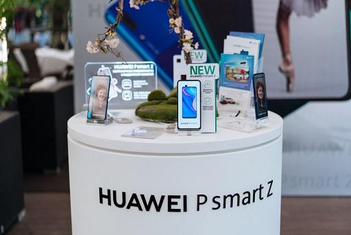HUAWEI представляет смартфон HUAWEI P Smart Z в Казахстане