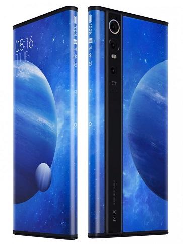 Mi Mix Alpha – смартфон с экраном с двух сторон