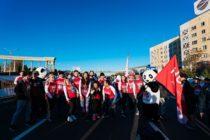 Партнером Алматинского марафона стала компания Huawei